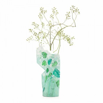 Pepe Heykoop - Paper Vase cover Jungle Leaves